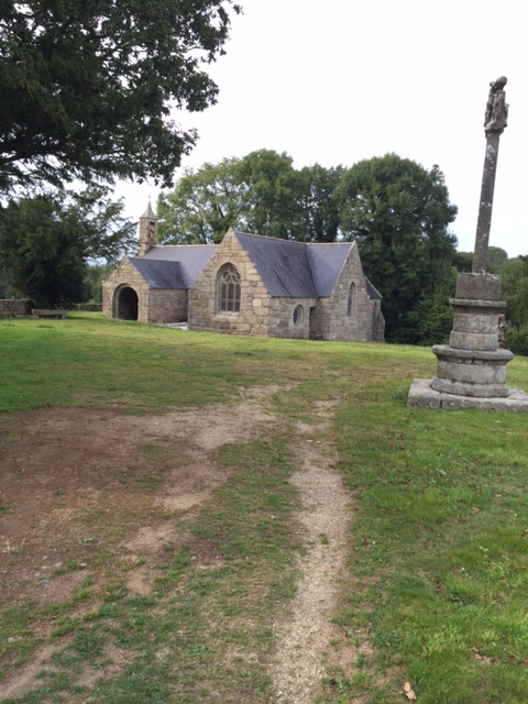 This a chapel which has been entirely restored after an appeal in the daily paper.