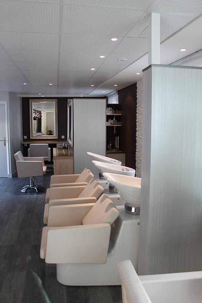 Cration dun salon de coiffure  Architecte dintrieur Quimper