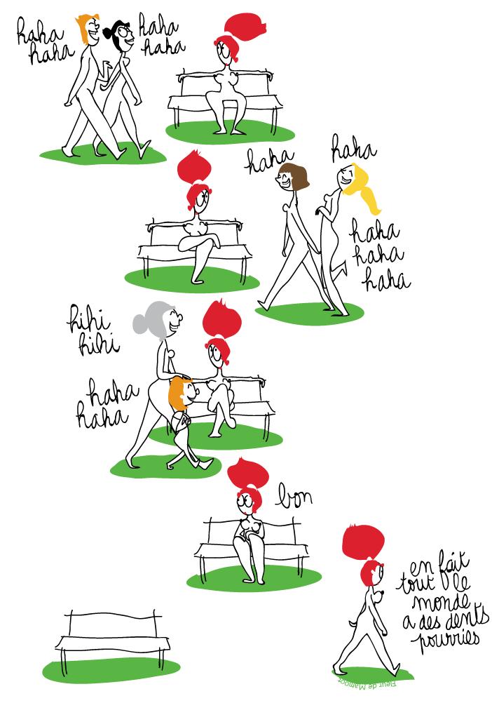 bande dessinée humour dentiste