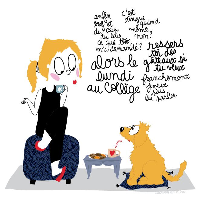 dessin pour ado je voudrais un chien