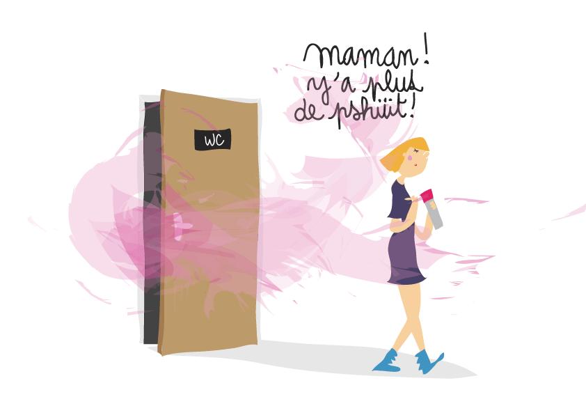 dessin-humour-adolescente-toilettes-wc
