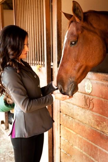 Emmanuelle Vuagier horse
