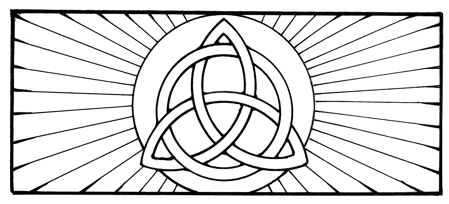 The Name Trinity Coloring Page Coloring Pages