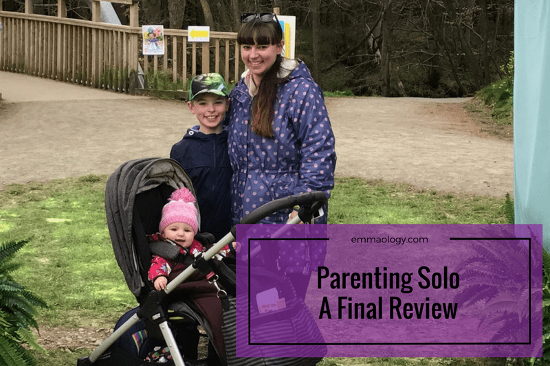 Parenting Solo – A Final Review