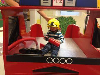 Jake as a fireman