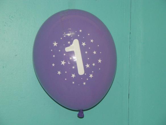 1 balloon