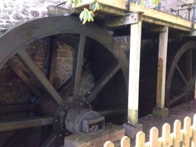 large water wheel