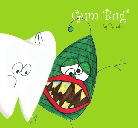 Gum bug from life's little bugs