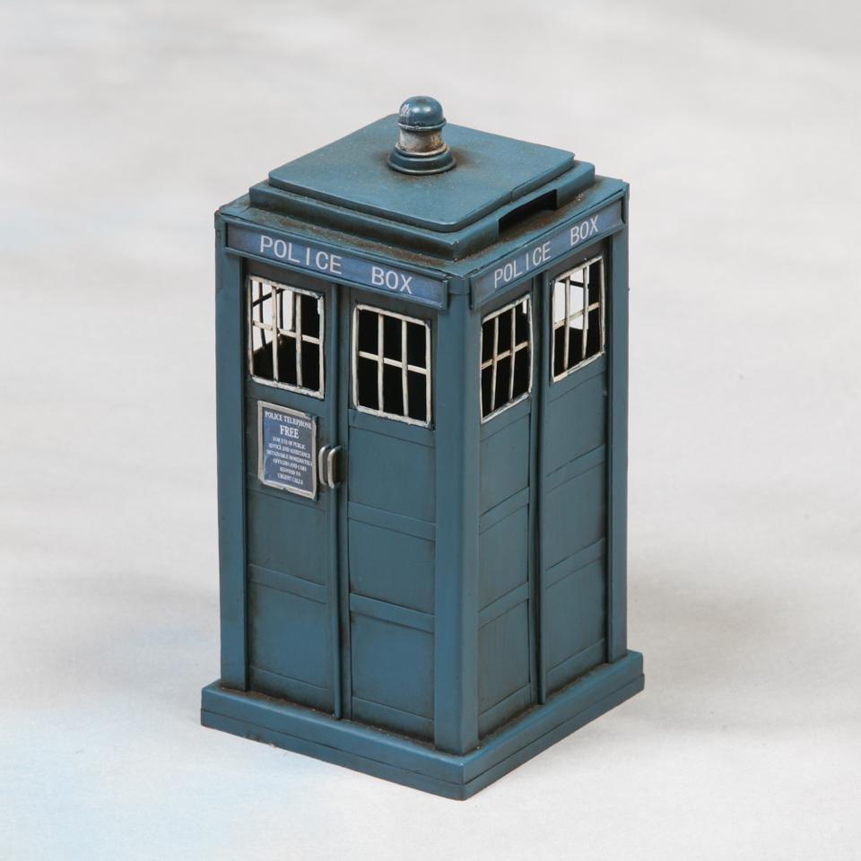 small police box