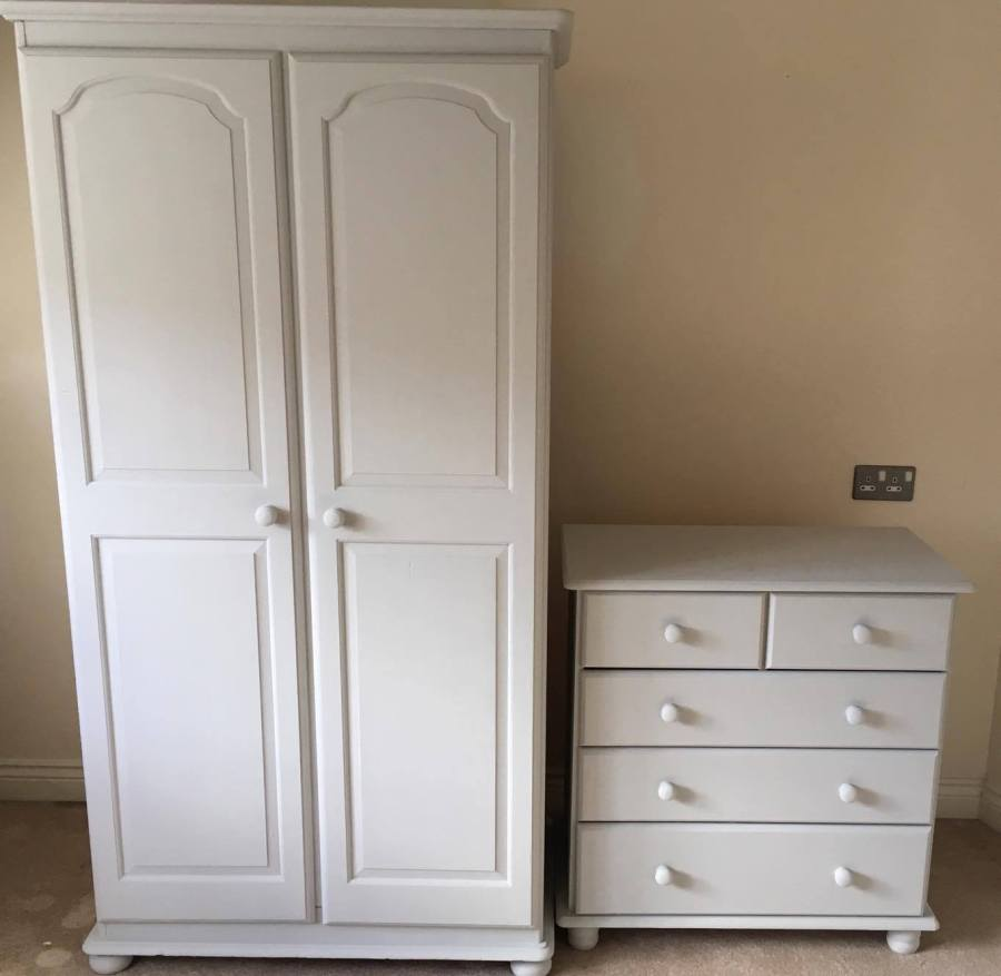 completed painted furniture