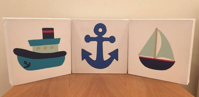 nautical themed canvas pictures