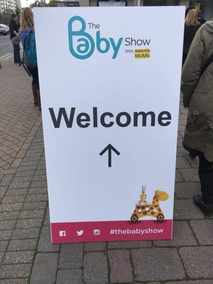 The Baby Show sign