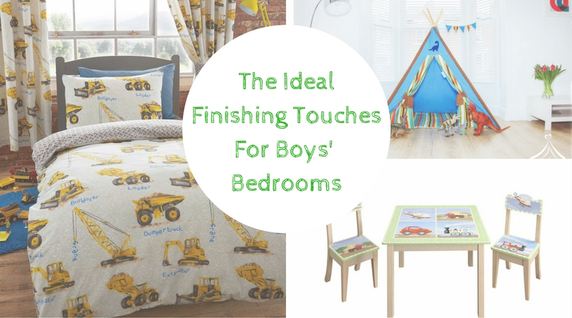 The ideal finishing touches for boys' bedrooms