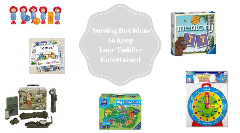 Nursing Box Ideas To Keep Your Toddler Entertained