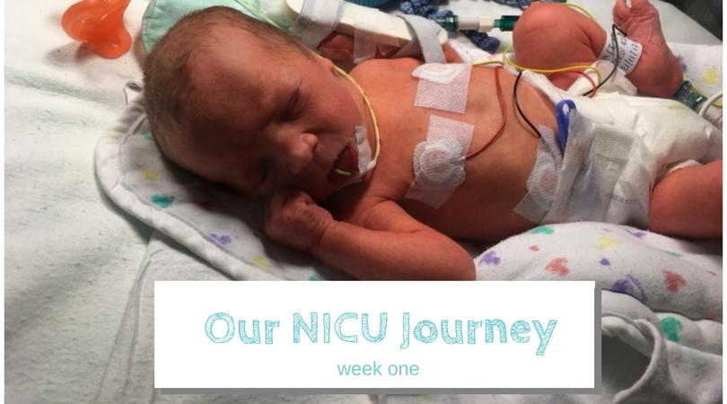 Our NICU Journey- Week One