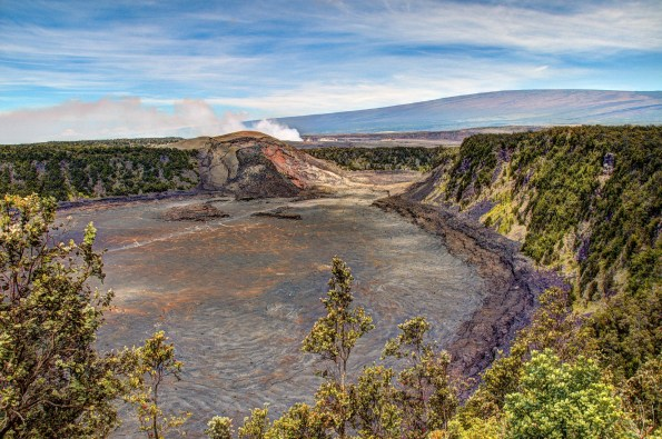 kilauea crater in Hawaii
