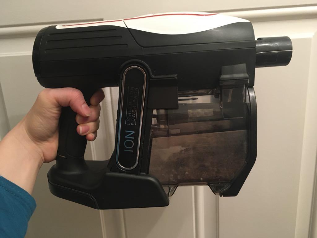 the handheld part of the shark vacuum
