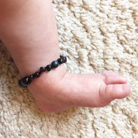 amber anklet
