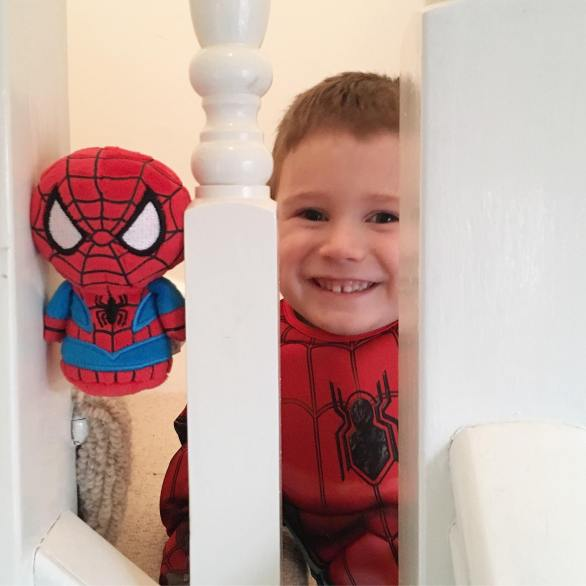 Jake and his spiderman