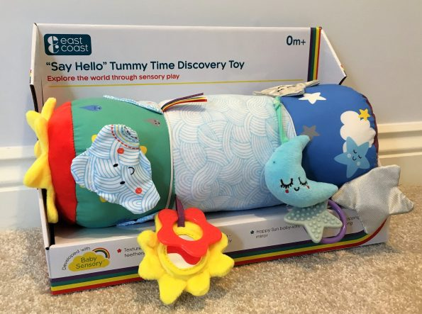 tummy time discovery toy