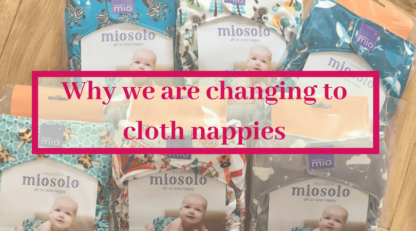 why we are changing to cloth nappies