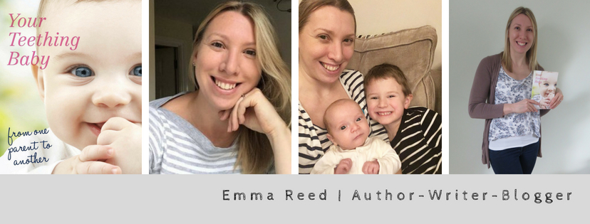 emma reed author blogger writer with 3 images of me, my book and the kids