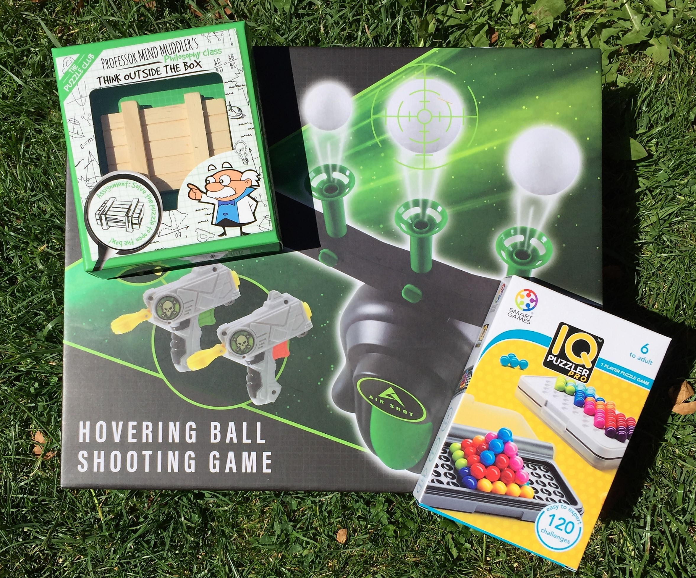 3 games from wicked uncle's big kidz range
