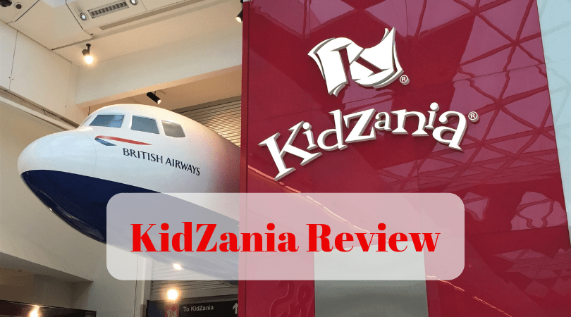 KidZania Review front of KidZania