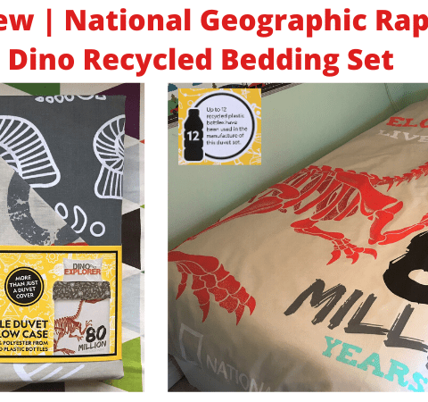 Review | National Geographic Raptor Dino Recycled Bedding Set