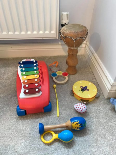 Music play area