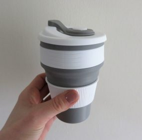 coffee cup expanded