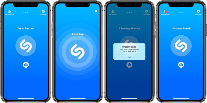 discover any music title using shazam