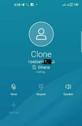 MTN Pay4me call screen