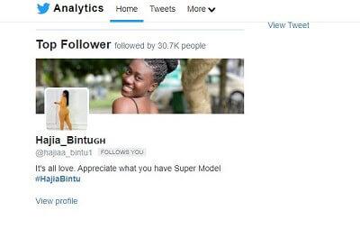 see top follower