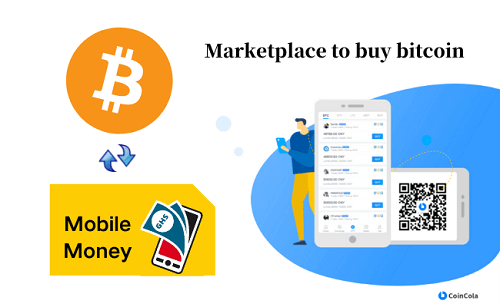 how to buy bitcoin with mobile money in ghana
