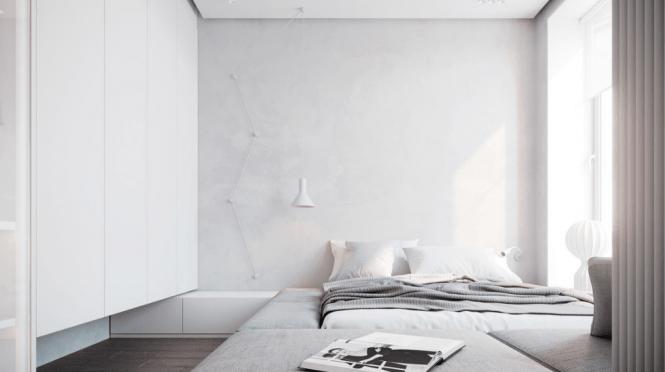 habiatacion estilo minimalista