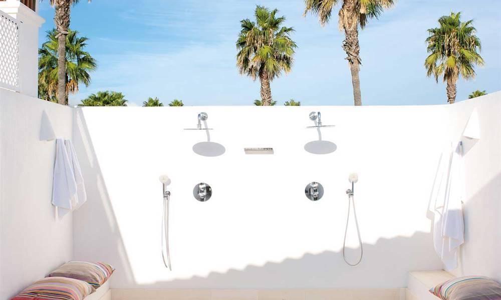 Diseño duchas exterior