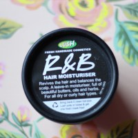 Review: Lush R&B hair moisture