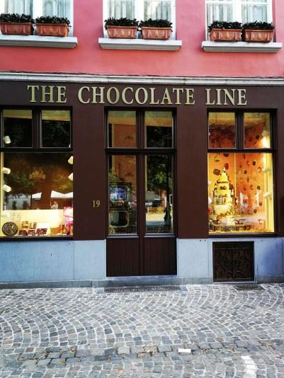 The Chocolateline-Brügge