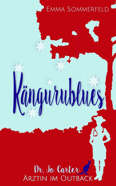 Romancover Australienroman Kängurublues