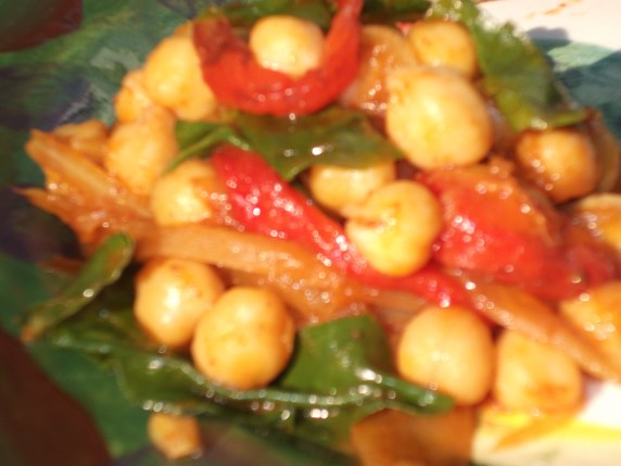 Cheat's Chickpea Curry - can be made Vegetarian, Wheat / Dairy Free.