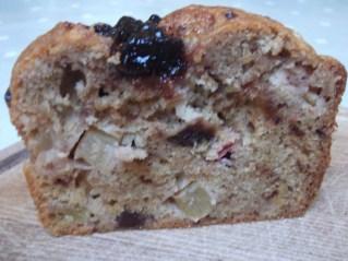 Chunky Apple & Plum Cake