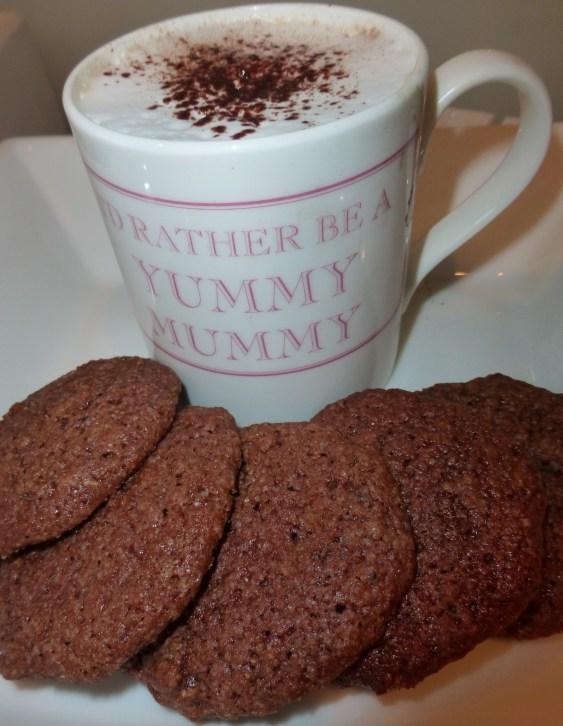 Breadcrumb Chocolate Cookies