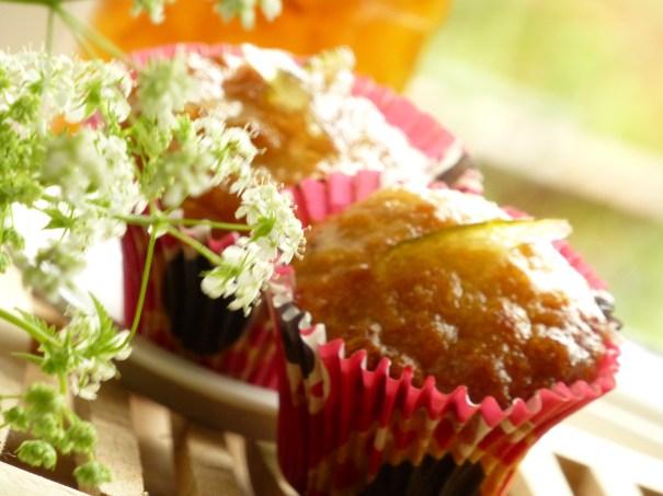 Lime Marmelade Muffins.