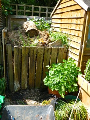 Compost Heap Ready To Go! May 14.
