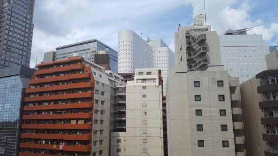 """View from my short-stay apartment in the """"Sky Scraper District"""""""