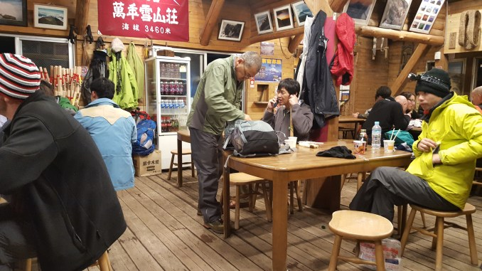 Inside the 9th station hut