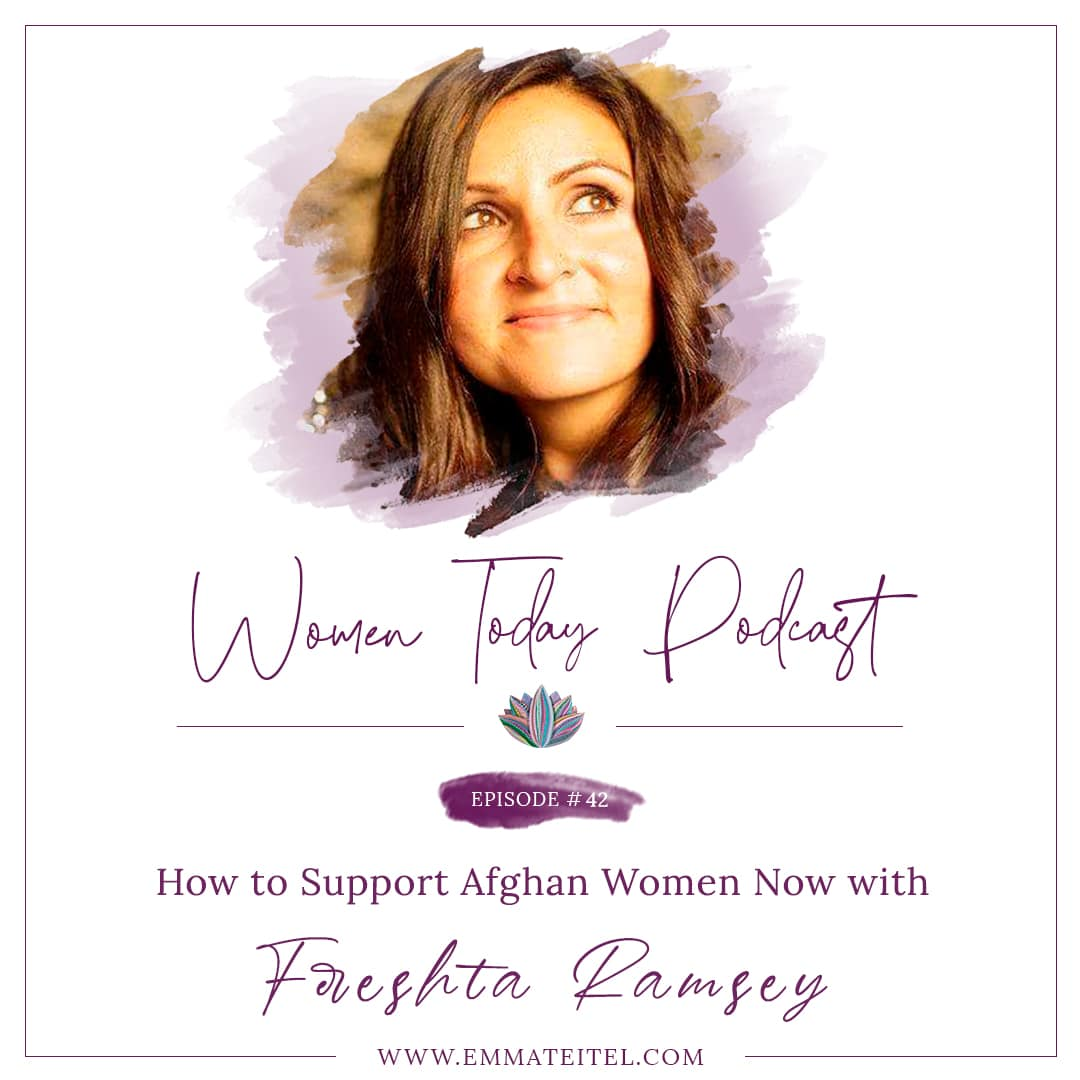 How to Support Afghan Women Now with Fereshta Ramsey