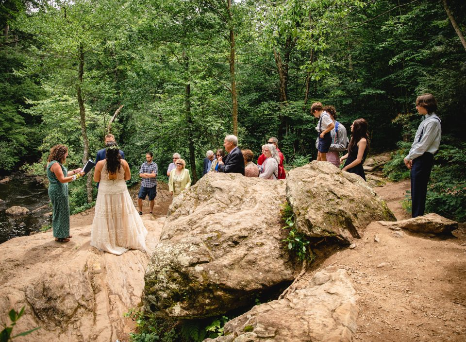 elopement-style microwedding