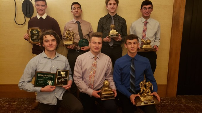 boys soccer hornets celebrate season at annual awards banquet